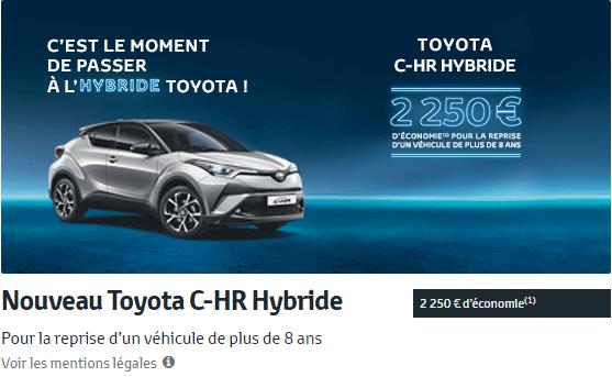 Nouveau Toyota C-HR Hybride
